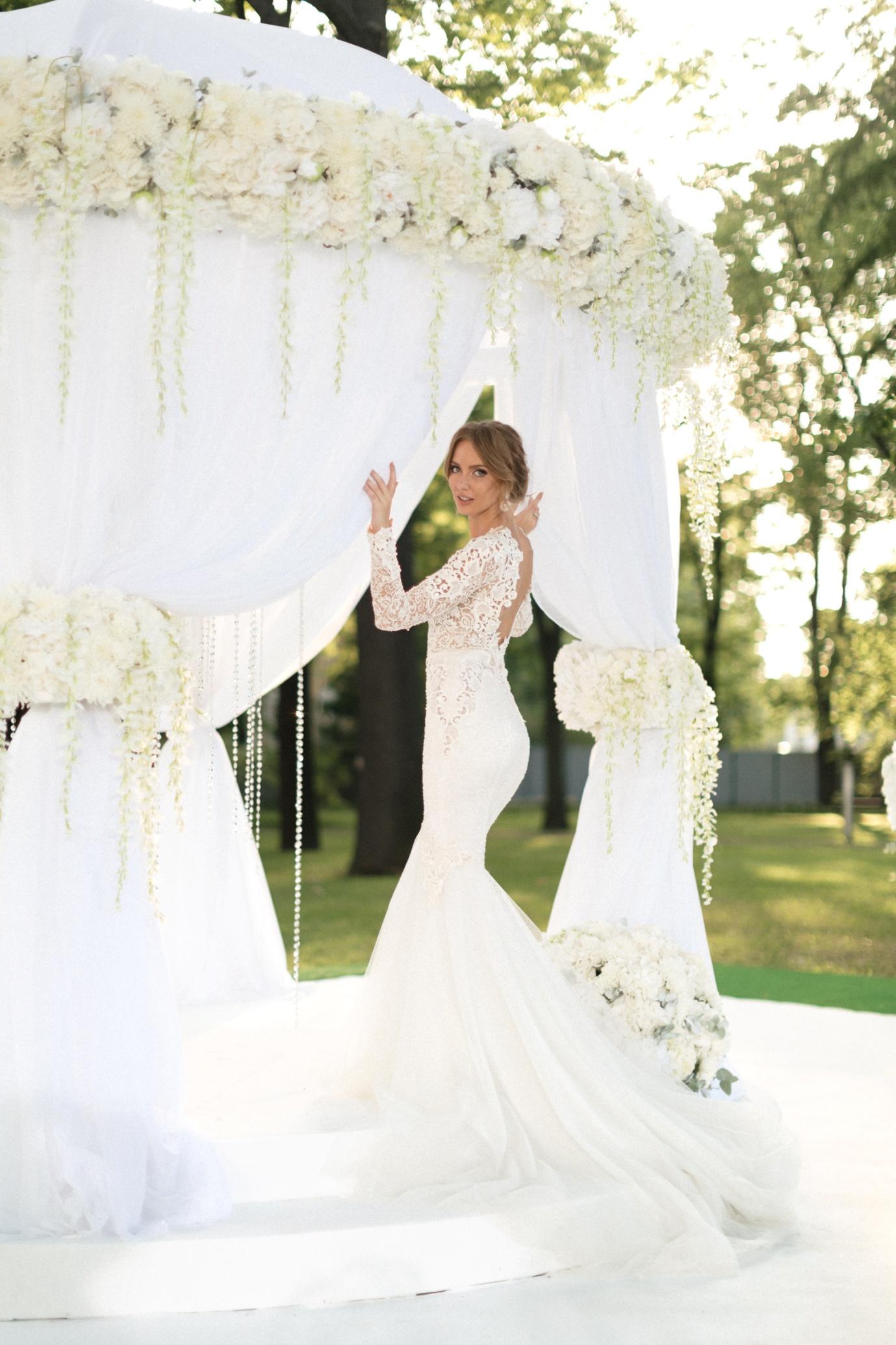 цвета и стили оформления свадеб-фото примера