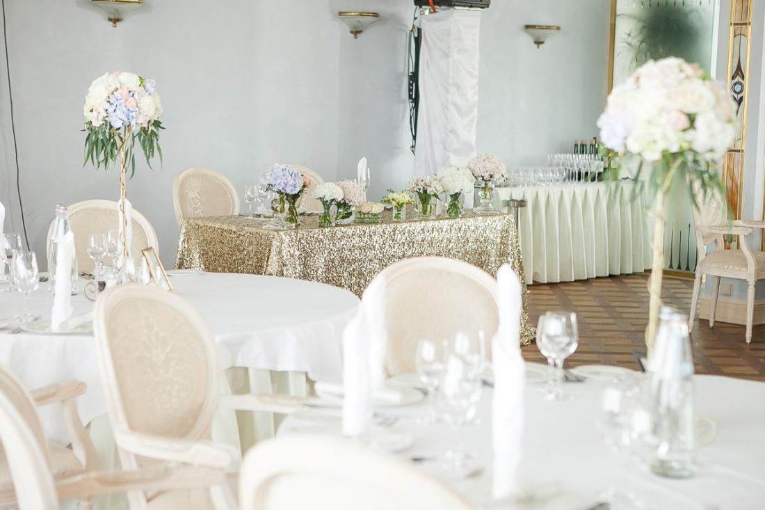 Оформление свадебного стола-фото примера