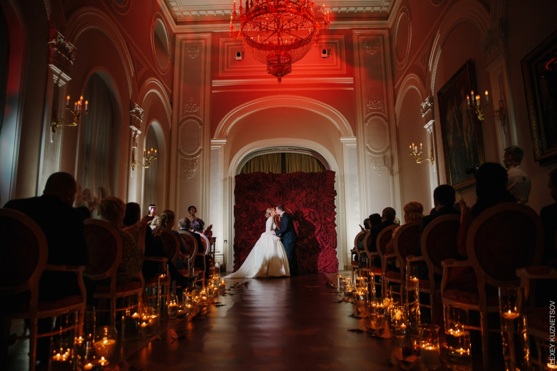 оформление свадьбы-фото примера